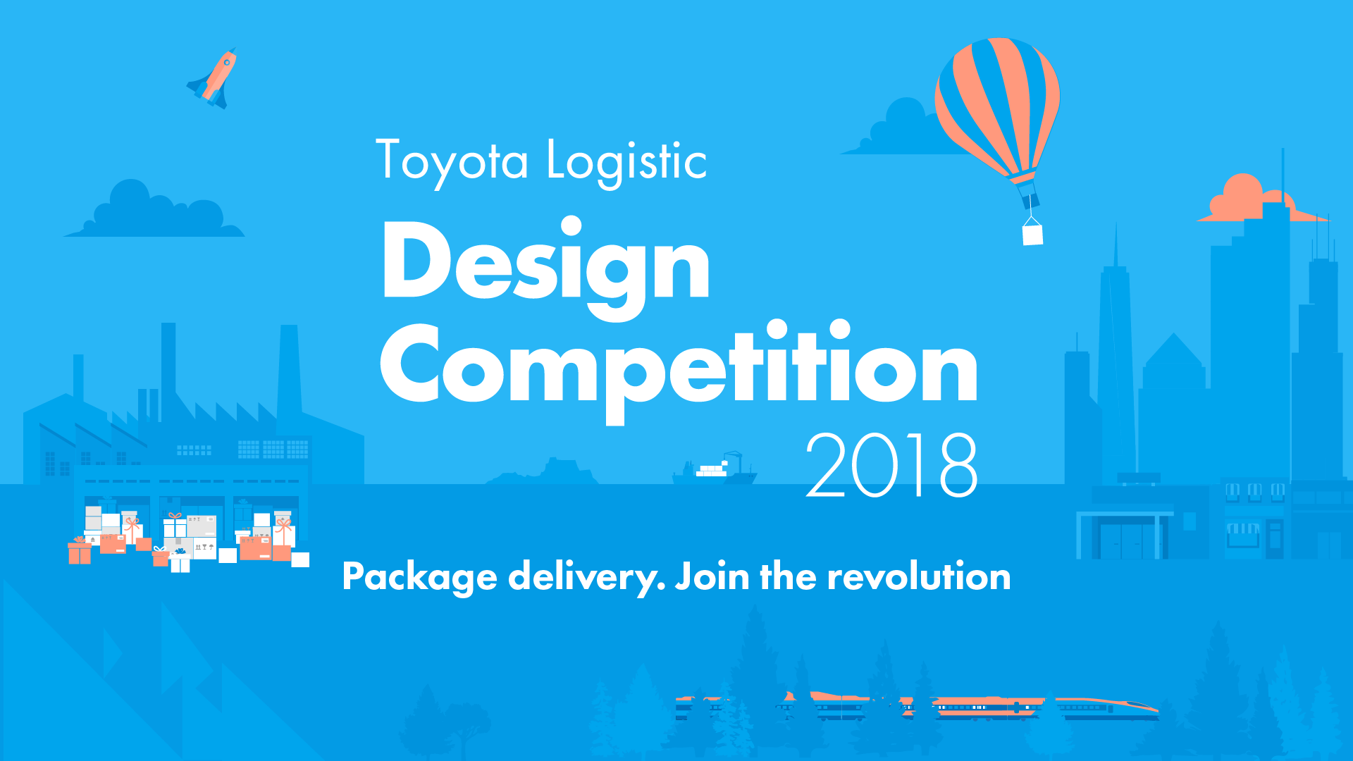Toyota Logistic Design Competition 2018 title picture