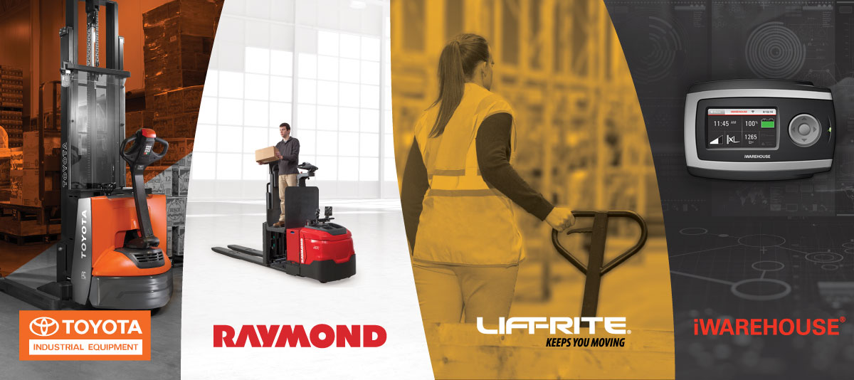 The multiple brands of Toyota Material Handling North America