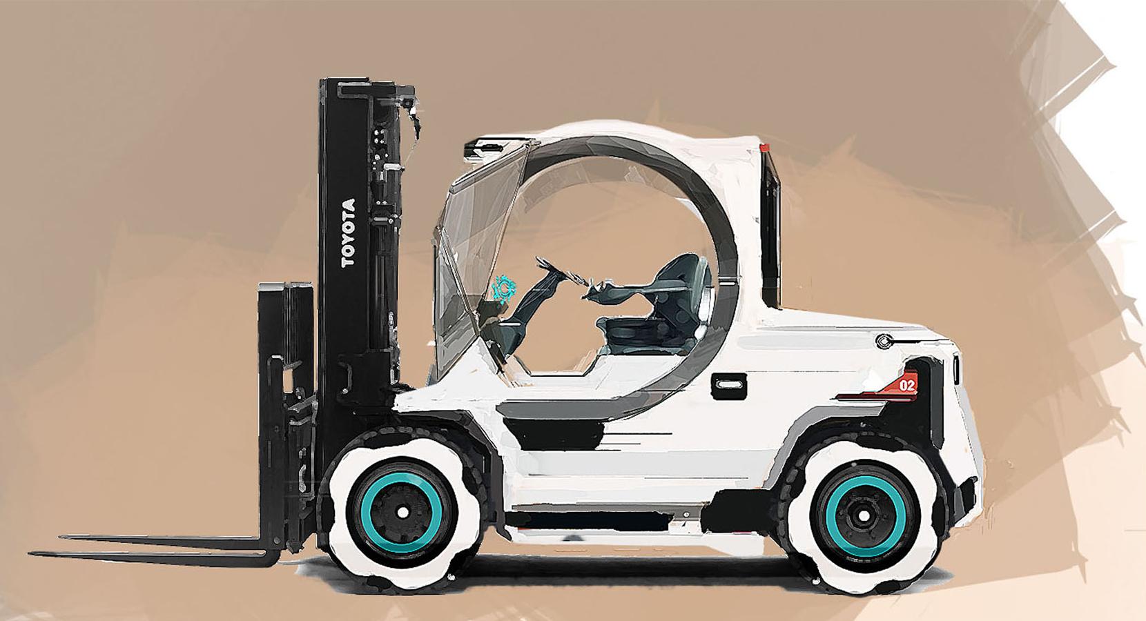 BT Reflex R-series truck